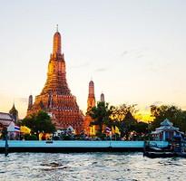 泰國玩翻天~綠山動物園、時尚流水蝦、船遊湄南河、曼谷國際五星飯店5+1日(不含稅簽)