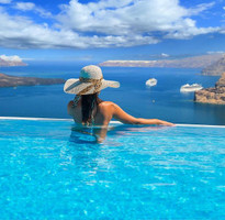 【賺很大】希臘雙點進出、聖多里尼、米克諾斯、克里特島、天堂海灘10日