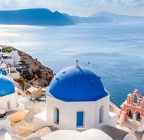 端午連休跟團省#【希臘渡假趣!雙島10天】米克諾斯島~天堂海灘、2晚聖托里尼、天空之城梅提歐拉、伊亞夕陽