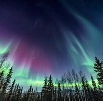 阿拉斯加璀璨極光+洛磯山脈12天