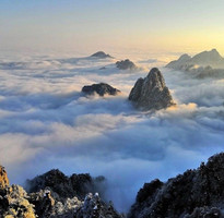 冬戀黃山來看雪、走訪宏村四日 【山上乙晚】