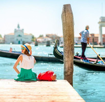 雙十連休跟團省♯【賺很大】義大利南進北出、阿瑪菲、藍洞、威尼斯雙島、貢多拉遊船11日