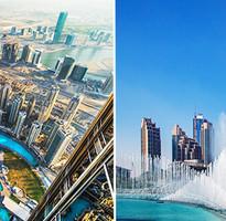 超值杜拜.阿布達比~謝赫扎耶德大清真寺、阿拉伯灣遊船、哈里發塔、黃金相框、雙購物城、時尚飯店8日