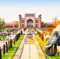 經典印度~精選金三角、曼達瓦、皇宮‧城堡飯店、騎乘駱駝、瑜珈體驗8日