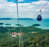 愛戀蘭卡威~豔陽三離島、蘭卡威自然生態之旅、世界最大彎曲吊橋、檳城狂想曲、喬治城魔鏡五日
