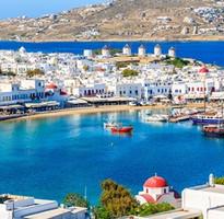 「魅力歐洲」希臘愛琴海全覽14日(彩虹島、米克諾斯島、聖多里尼島、天空之城、驚豔藍洞之旅、巴黎購物趣)
