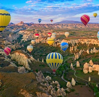 奇趣土耳其~貝加孟遺跡、卡帕多奇亞泥漿浴、驚奇愛之旅、世界文化遺產10日(含稅簽)