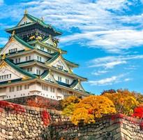 關西花月夜~漫遊京阪神、北野天滿宮、風情大阪城、米其林景點四日(含稅)