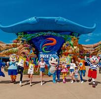 【玩展雙樂園】五星皇冠假日.橫琴海洋王國+野生動物園4日