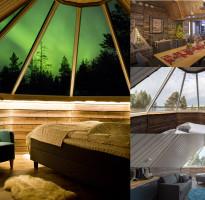 芬蘭幸福極光~極光玻璃屋、凱米海濱別墅、聖誕老人村、破冰船帝王蟹、馴鹿雪橇夜遊10日(含稅)