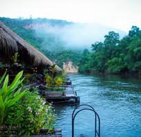 探索泰國~桂河大城之旅、 泰緬鐵路、桂河水上屋、小吳哥窟五天